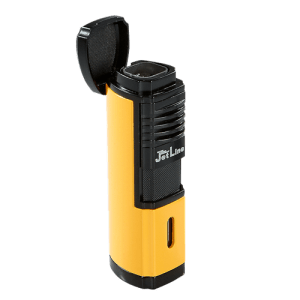 JetLine Villano Quad Torch Lighter Yellow