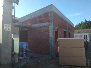 estructura en ladrillo del edificio