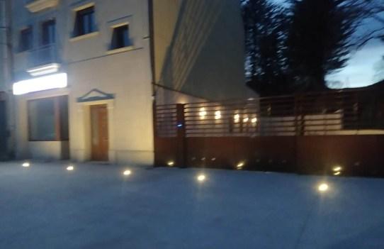 iluminación para edificios