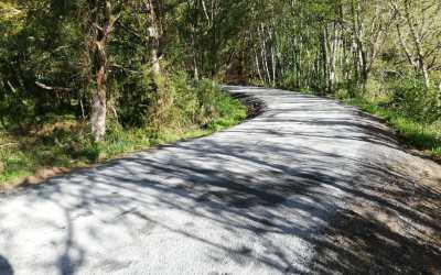 Pavimentación de Carretera en Accesos a Anxeriz e A Muraza (Friol, Lugo)