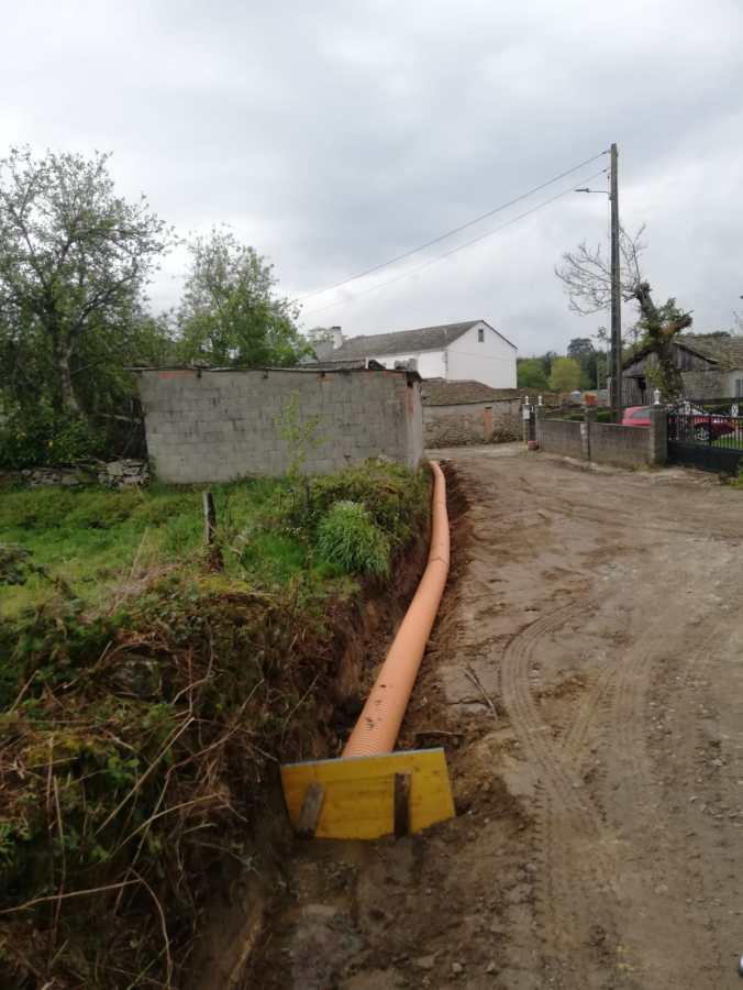 preparación tuberías en asfaltado