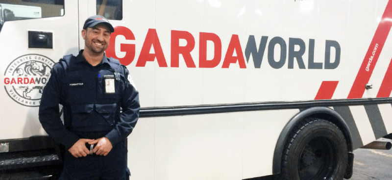 Armed Security Guard Gardaworld Federal Services