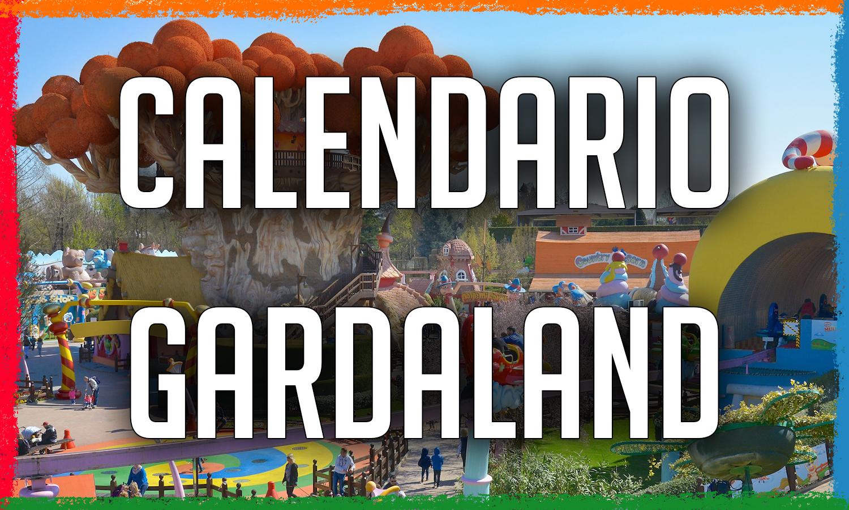 Calendario Gardaland Park