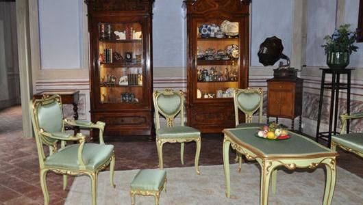 Una sala di Palazzo Bondoni-Pastorio