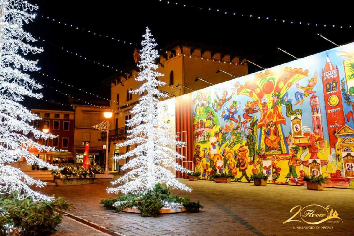 Questanno il Villaggio di Natale Flover  anche on the
