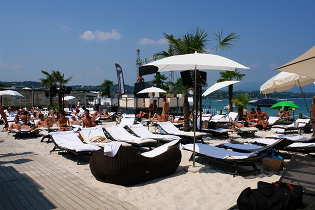 Coco Beach Club Desenzano del Garda  Gardasee Italien
