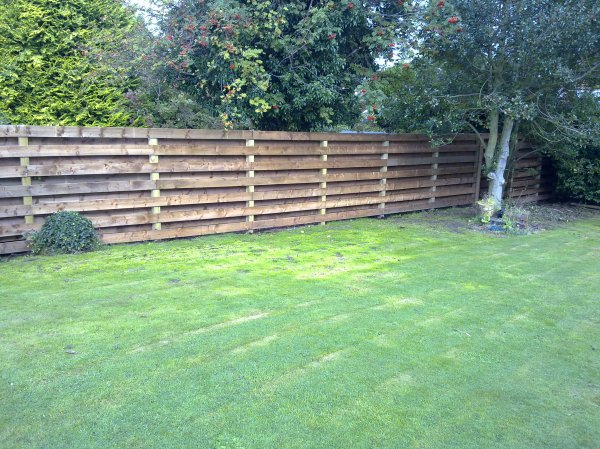 Garden Style Fence