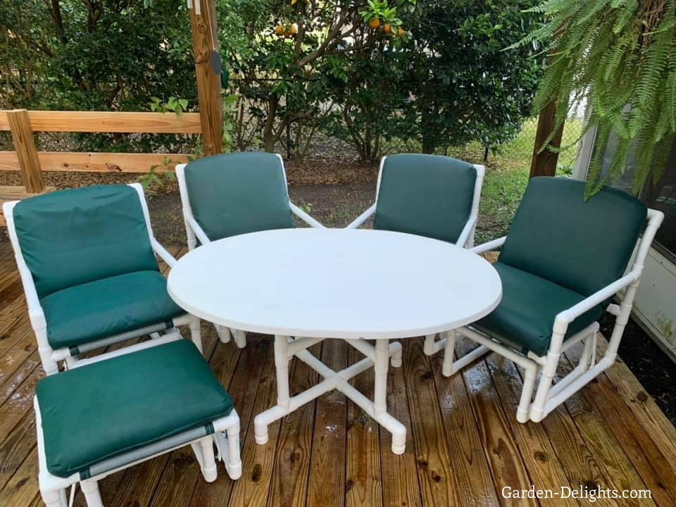 creating your own pvc patio furniture