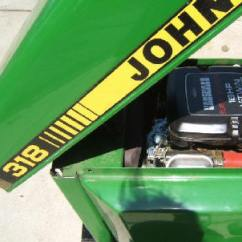 John Deere 317 Ignition Switch Wiring Diagram Free Funnel Template Garden Tractor Info 318 Repowered With A Vanguard Engine