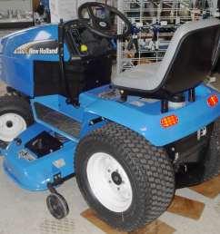 new holland garden tractor [ 995 x 891 Pixel ]