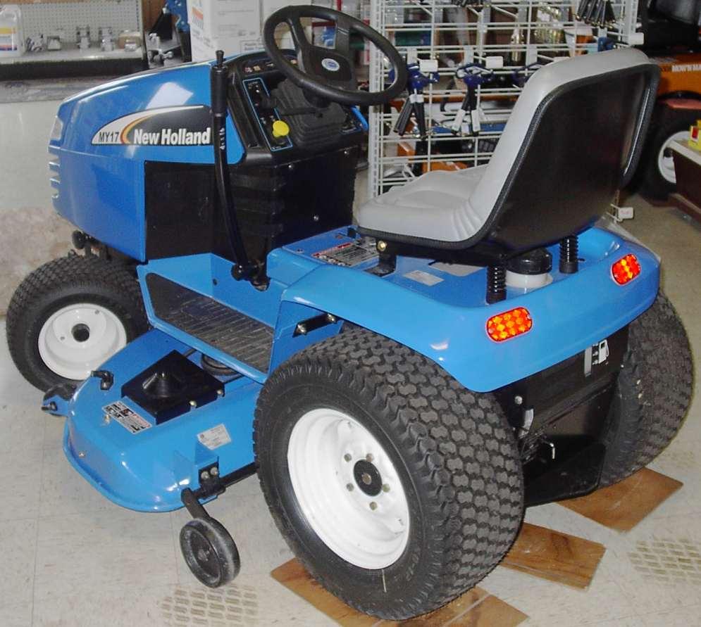 medium resolution of new holland garden tractor