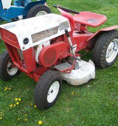 sears or craftsman garden tractor [ 1365 x 1024 Pixel ]