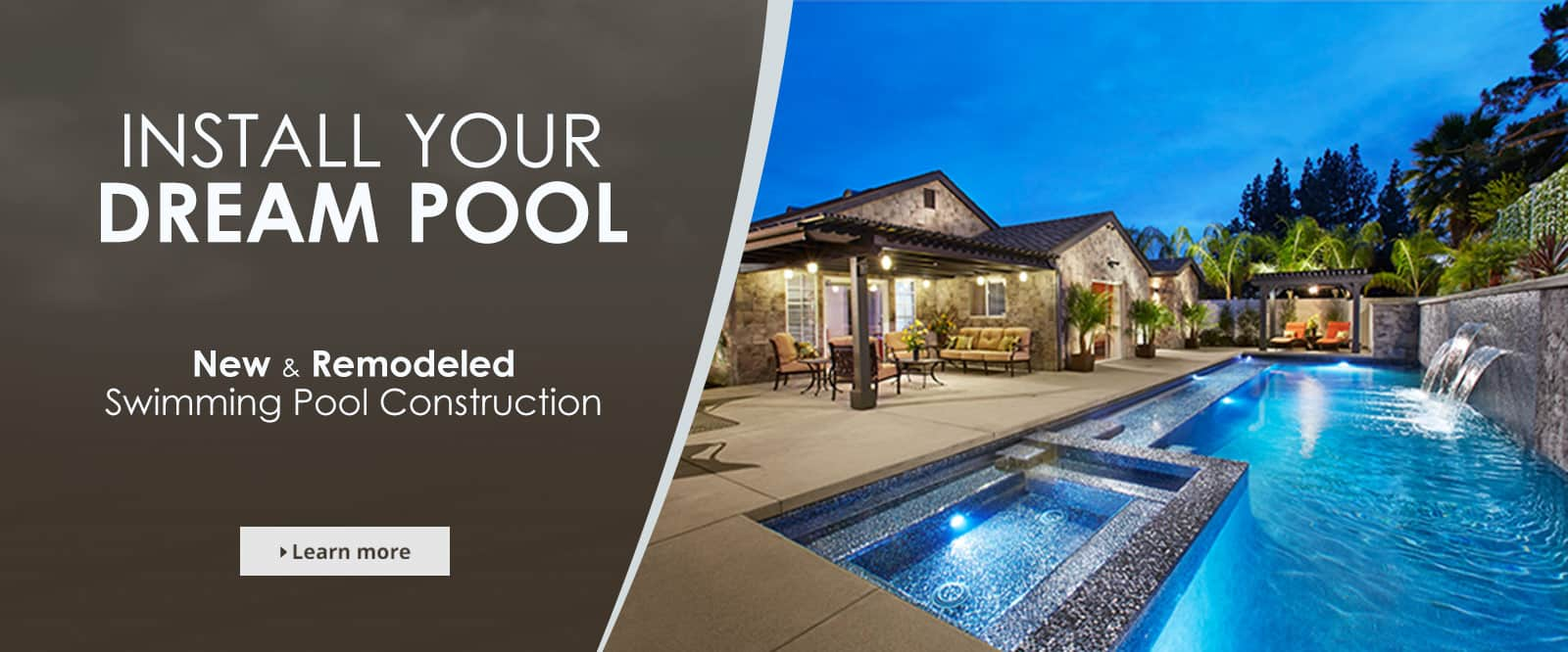 New and Remodeled Swimming Pools