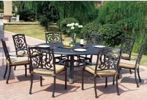 Cast Aluminum Patio Dining Set Furniture