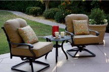 patio furniture cast aluminum deep
