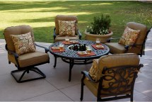 Patio Furniture Deep Seating Chat Group Cast Aluminum