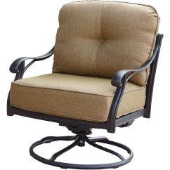 Sunbrella Outdoor Chair Cushions Church Sanctuary Chairs Canada Patio Furniture Cast Aluminum Deep Seating Rocker Swivel Club Nassau