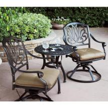 patio furniture bistro set cast