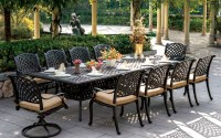 Cast Aluminum: Vintage Cast Aluminum Outdoor Furniture