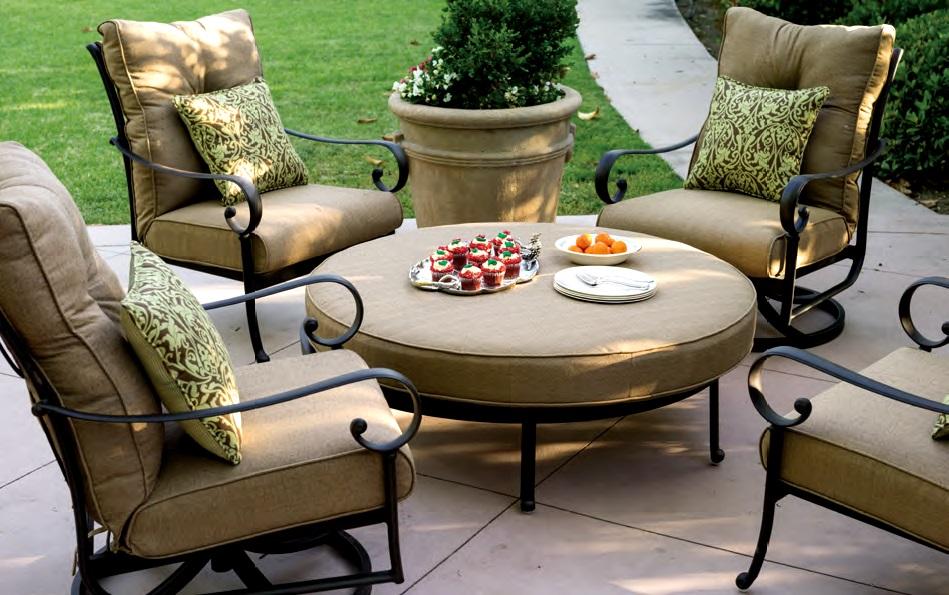 patio chair and ottoman hanging modern cast aluminum urban home interior furniture deep seating club ensemble round rh garden2home com