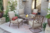 patio furniture deep seating ensemble