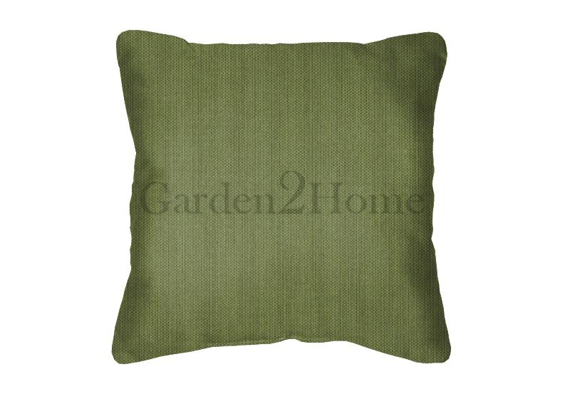 Throw Pillow in Sunbrella Canvas Turf 5447