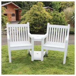 2 seater love chair barcelona leather sandwick winawood wood effect seat white 368 99 small image of