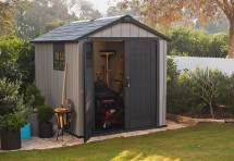 Keter Oakland 759 Garden Shed In Brownish Grey - 1044.99