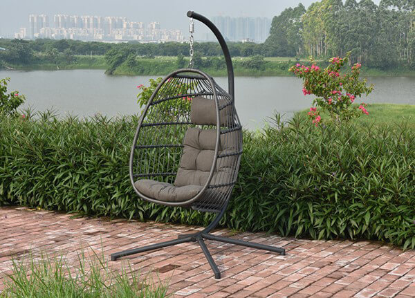 Holly Single Hanging Egg Chair Cocoon  28999