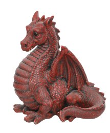 Red Winged Dragon - Resin Garden Ornament 89.99
