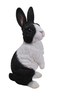 Lookout Dutch Rabbit - Resin Garden Ornament 19.99
