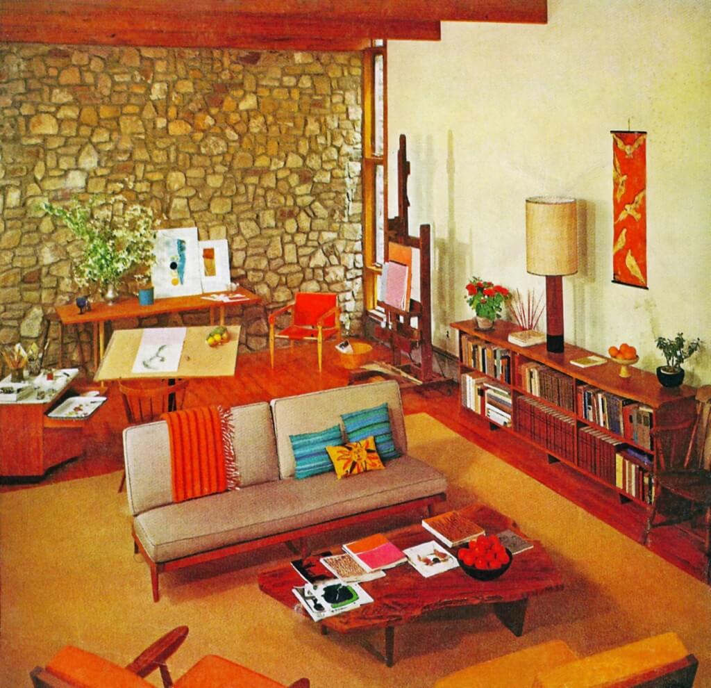 60s Style Living Room Furniture 1950s Top