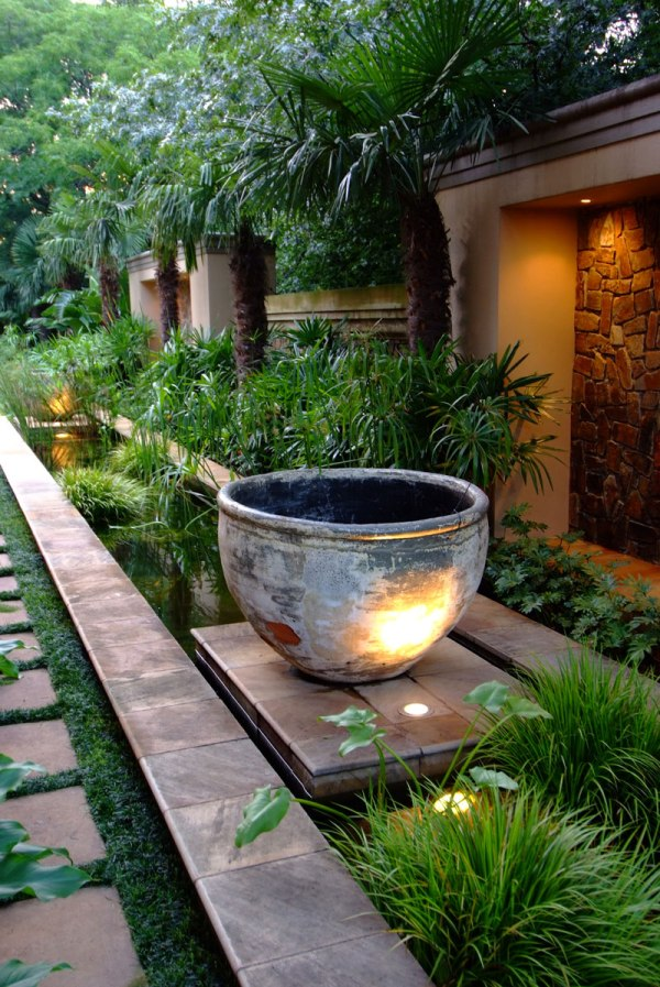 4 ideas landscaping with pots