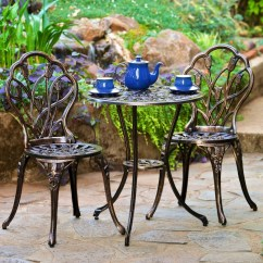 Iron Table And Chairs Set Leather Arm Chair Wrought Patio Furniture The Garden Home Guide