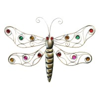 Metal Gold Dragonfly Wall Decor | Garden and Pond Depot