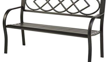 Sensational Plow Hearth Hummingbird Patio Garden Bench Park Yard Machost Co Dining Chair Design Ideas Machostcouk