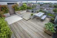 Roof Terrace Design penthouse apartment King's Cross ...