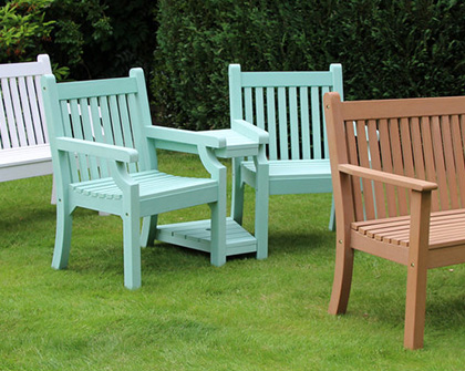 resin garden furniture shop chairs