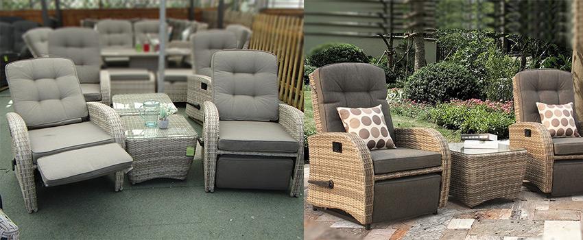 plastic rattan garden furniture resin
