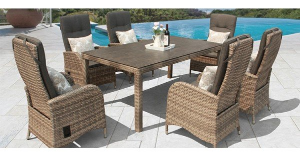 rattan garden dining chairs uk best storytime series furniture sets aluminium framed