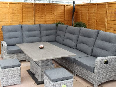 cheap sofa sets online uk laf meaning rattan corner and normal all weather buy large reclining set silver grey