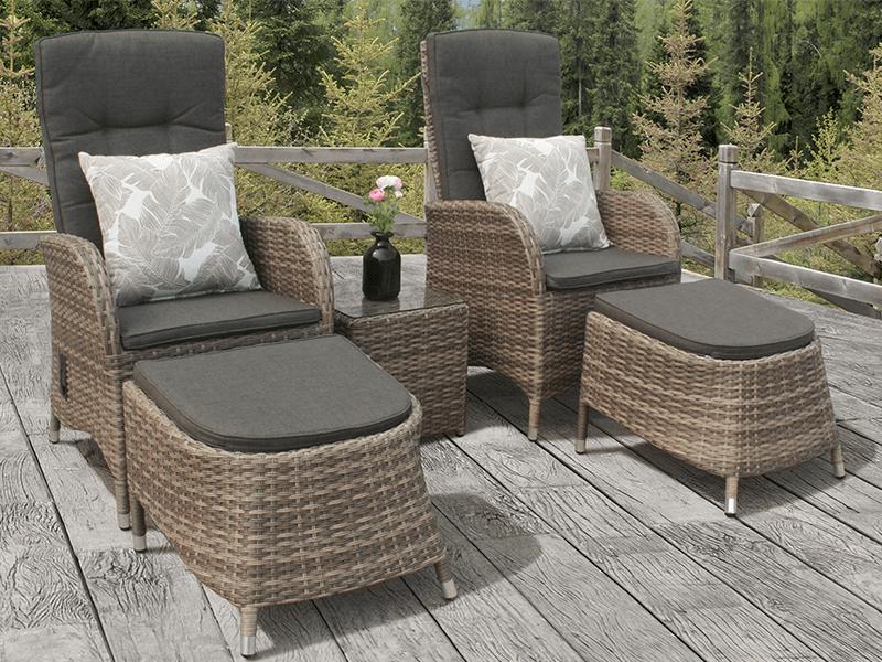 garden egg chair uk design for terrace cappuccino rattan reclining duo bistro set