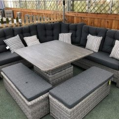 Wicker Sofa Sets Uk Reading Rattan Corner And Normal All Weather Buy Online Larne Set In Silver Grey