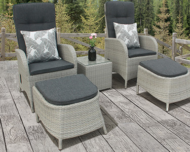 rattan garden dining chairs uk office chair no back furniture sets aluminium framed bistro