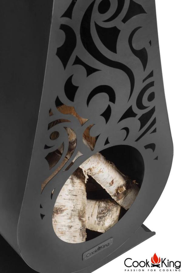 wood burning stove outdoor