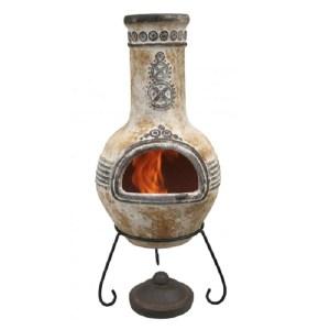 clay chimenea