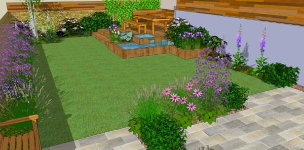 maintenance garden design