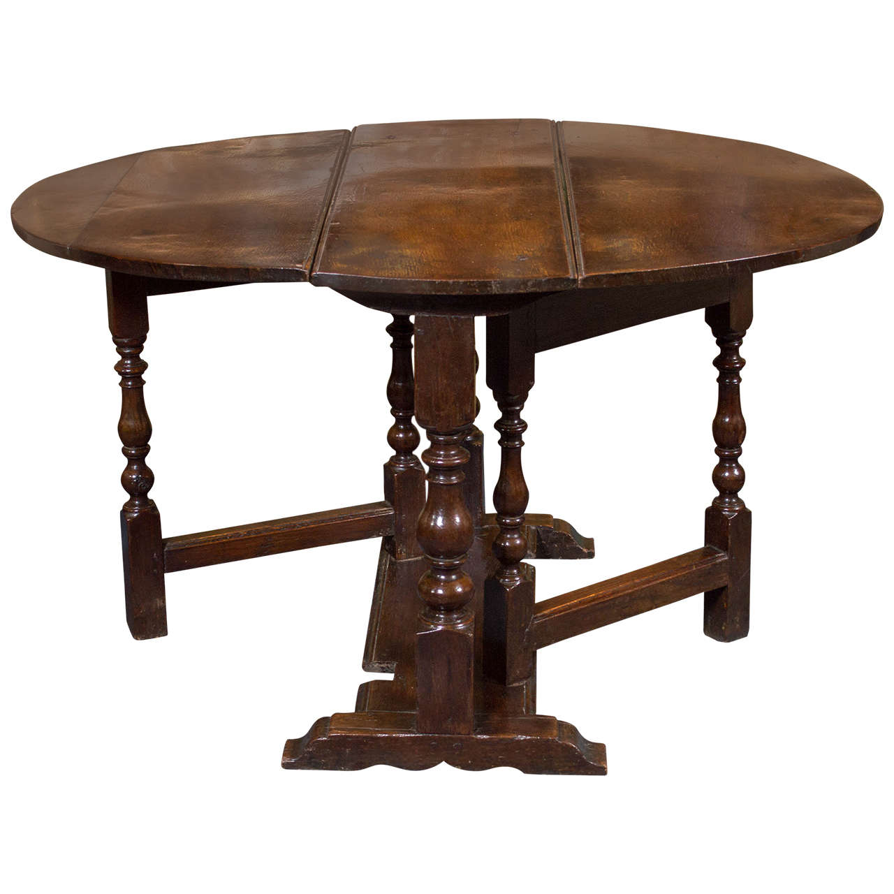 gateleg table with chairs travel shower chair diminutive english oak circa 1750 garden