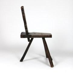 3 Legged Chair Staples Back Support Primitive 415 355 1690