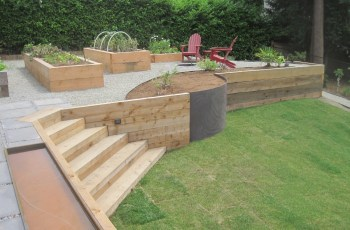 Top Retaining Wall Ideas Backyard New Wood For Garden In | Home And pertaining to Backyard Garden Wall Ideas